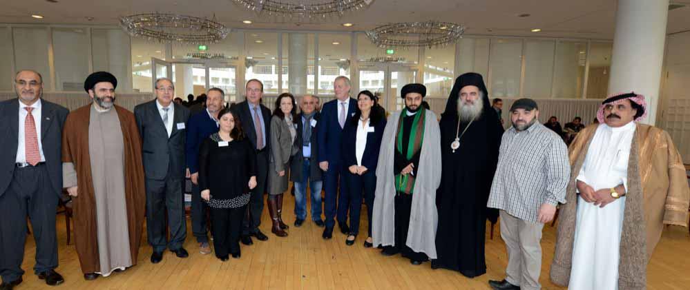 Christliche und arabische Muslime trafen sich in Dortmund zum Austausch.