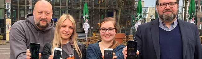 """Erster """"Mission Day"""" in Dortmund: Mehrere hundert AgentInnen ziehen am 25. März mit dem Handy durch die City"""