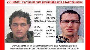 Der Terrorist Anis Amri soll auch Dortmunder Moscheen besucht haben. Bild: BKA