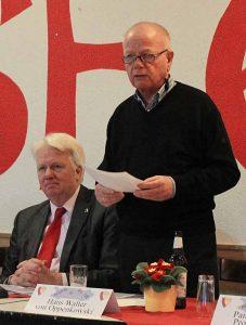 Hans Walter von Oppenkowski war lange Jahre Vorsitzender des BV Westfalia Wickede, bevor er zu den Sportfreunden Brackel 61 gewechselt ist.