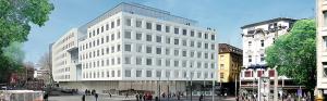 Wenn das alte Karstadt-Gebäude abgerissen ist, soll dieses Studentenwohnheim entstehen.