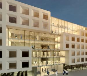 Das Team von Gerber-Architekten will ein hochwertiges Studentenwohnheim bauen.