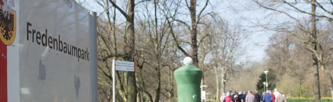 Buschwindröschen-Wanderung durch den Fredenbaumpark