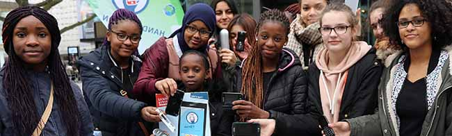 Alte Handys sind wahre Schatzkisten für Rohstoffe: Start für landesweite Handy-Sammelaktion in Dortmund