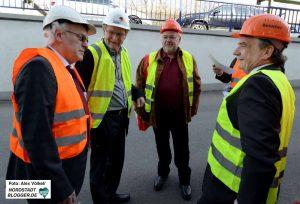 Wolfgang Thelen, Ludger Wilde, Ralf Stolze und Michael Groschek.