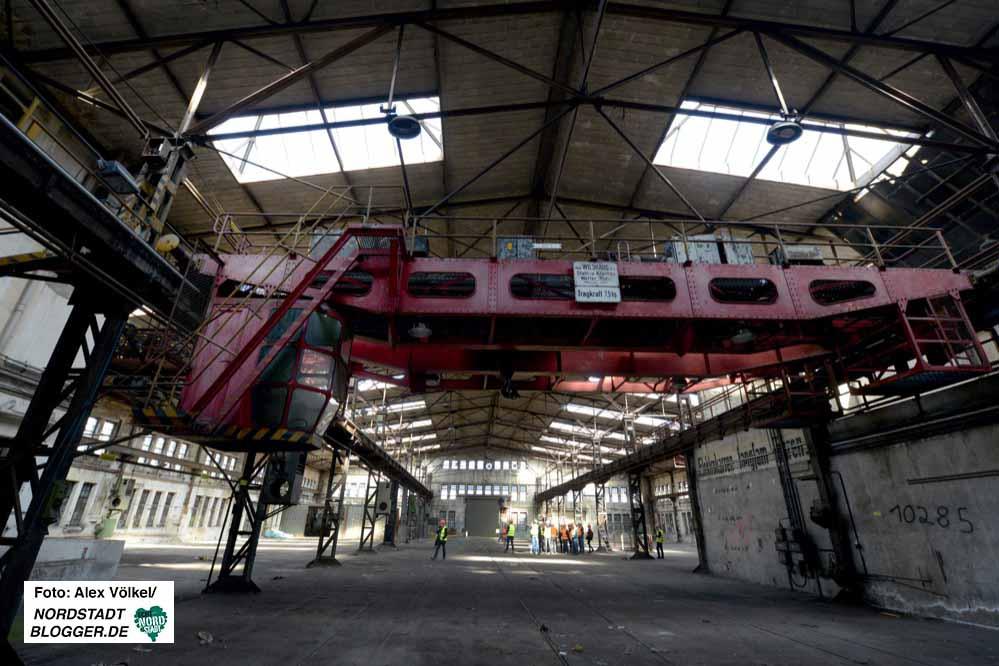 Die als Emscherschlösschen gezeichnete Halle könnte als Mehrzweck- oder Markthalle dienen.