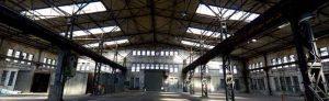 """Die als """"Emscherschlösschen"""" bezeichnete Halle könnte als Mehrzweck- oder Markthalle dienen."""