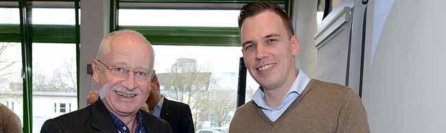 Nachfolge geklärt: Dorian Marius Vornweg ist neuer stellvertretender Bezirksbürgermeister der Nordstadt