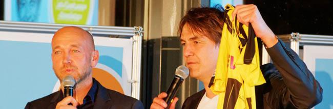FOTOSTRECKE Comedy und Fußball: DEW21 lud zu einem unterhaltsamen BVB-Abend mit Matze Knop ein