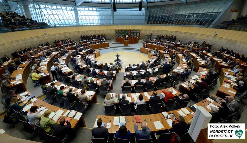 Landtagssitzung in Düsseldorf