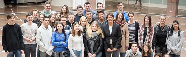 Austausch-SchülerInnen aus der israelischen Partnerstadt Netanya waren eine Woche lang zu Gast in Dortmund