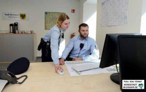 Julia Bensch und Steven Dean gehören zum Nordstadt-Team des Ordnungsamtes.
