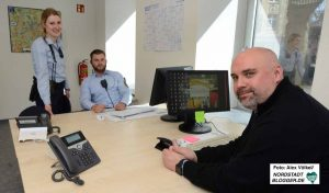 Julia Bensch, Steven Dean und Tobias Marx gehören zum Nordstadt-Team des Ordnungsamtes.