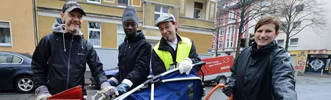 """Neue Gruppe """"Sauber!Hafen"""" beteiligt sich an Sperrmüllaktion von Quartiersmanagement Nordstadt und EDG"""
