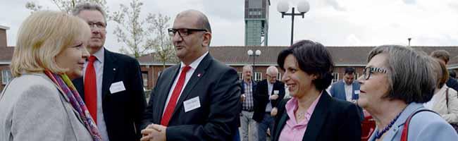Sozialdemokratischer Wahlkampf und gelebter Strukturwandel auf der ehemaligen Zeche Minister Stein in Dortmund