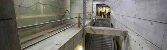 Halbzeit auf der Stadtbahnbaustelle im Hauptbahnhof in Dortmund: 36,9 Millionen Euro werden hier verbaut