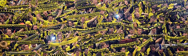 Nach Freispruch nun Urteil vorm Landgericht: Geldstrafe für Verstoß gegen das Vermummungsverbot im BVB-Fanblock