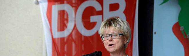 Jutta Reiter führt den DGB Dortmund für weitere vier Jahre