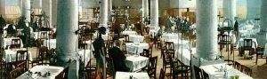 Innenansicht des Restaurants Unionbräu, um 1910. © Stadtarchiv Dortmund