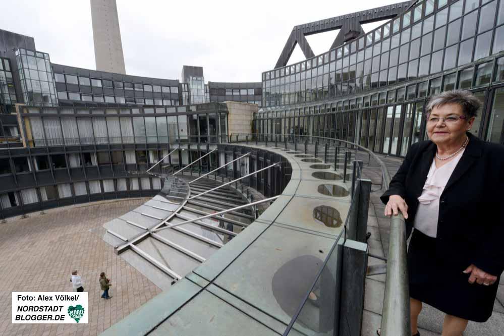 22 Jahre war die Evingerin im Düsseldorfer Landtag - Dienstag ist Schluss. Fotos: Alex Völkel