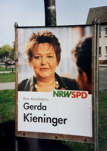 1995 trat sie erstmals für den Landtag an und holte das landesweit beste SPD-Ergebnis.