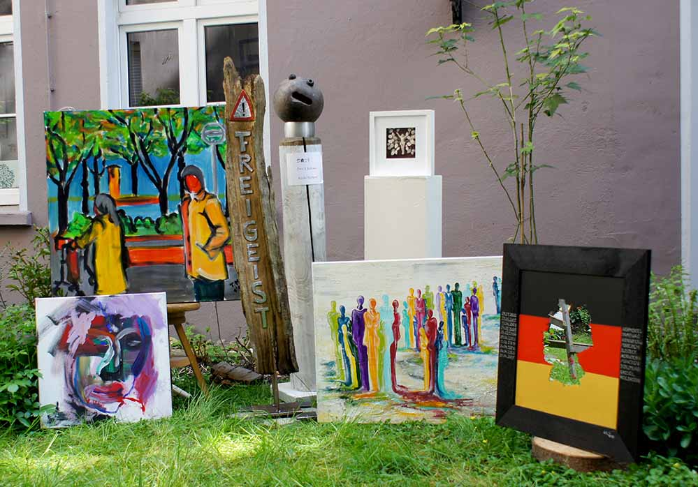 """Unterschiedlichste künstlerische Strömungen kommen in der """"kunstdomäne"""" zusammen."""