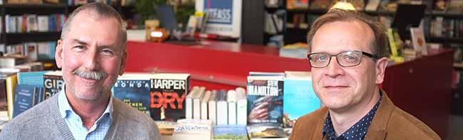 Kein Buch mit sieben Siegeln in der Nordstadt: Der neue Chef in der Litfass-Buchhandlung ist ein Kollege