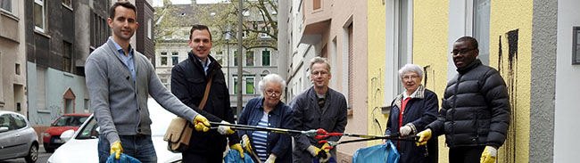 CDU lud zum Frühjahrsputz ins Hafenquartier