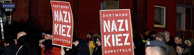Gegen den Landestrend: Rechtsextremistische Gewalt- und Straftaten sind in Dortmund zurückgegangen