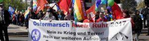 Osternmarsch gegen Neonazis auf dem Wilhelmplatz Dorstfeld