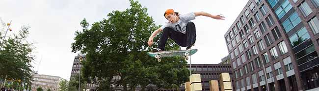 """""""Create Your Skateplaza"""" am Dortmunder U – Saisonstart mit Touren, Contests, Skateschule und Filmangebot"""