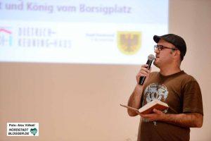 Kabarettist Ilhan Atasoy - Der König vom Borsigplatz - sorgte für den unterhaltsamen Rahmen.