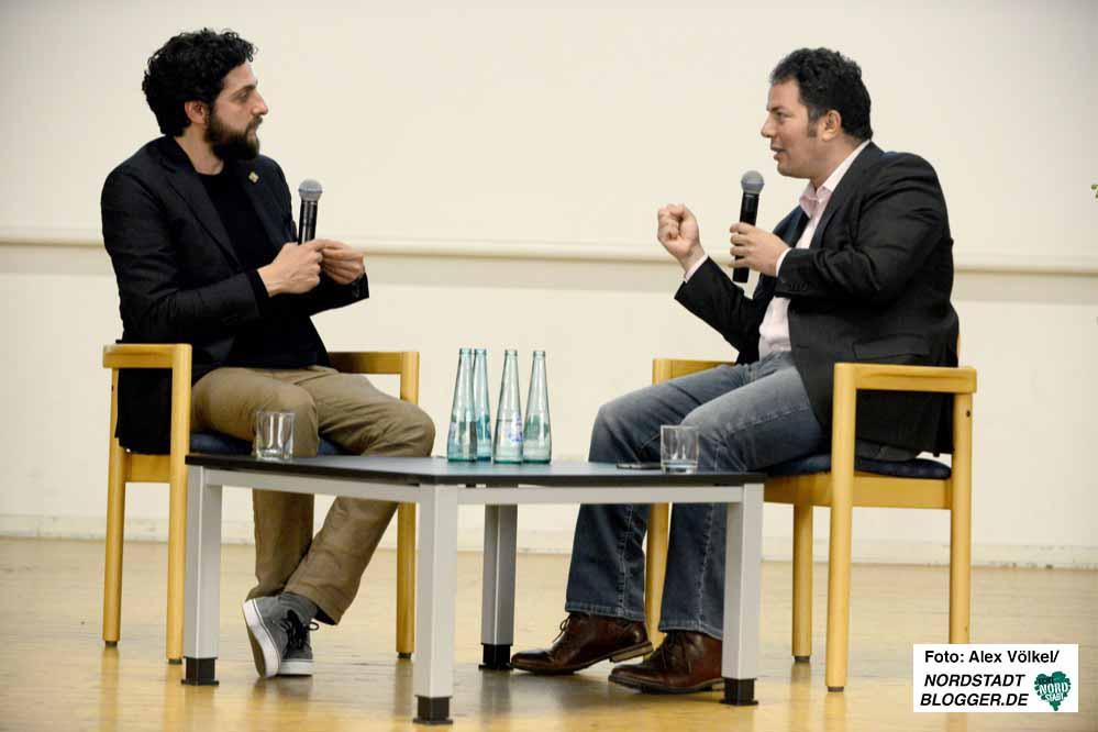 Mehrfach kam es zu verbalen Duellen zwischen Aladin El-Mafaalani und Hamed Abdel-Samad.