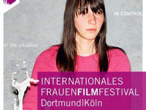 Motiv des Frauenfimfestivals in Dortmund und Köln.
