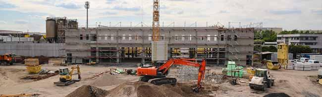 Richtfest am Sunderweg:40 Millionen-Euro-Bauprojekt von Stadt Dortmund und EDG im Kosten- und Zeitrahmen