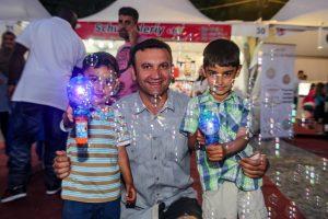 Das Festival im Fastenmonat Ramadan ist ein Fest für die ganze Familie.