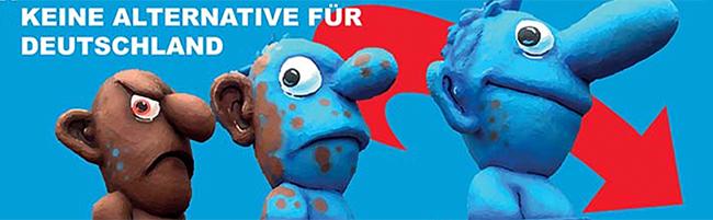 """""""Keine Alternative!"""": Ausstellung und Diskussion zur AfD – """"Blackbox""""-Reihe mit dem Thema """"Reporting Populismus"""""""