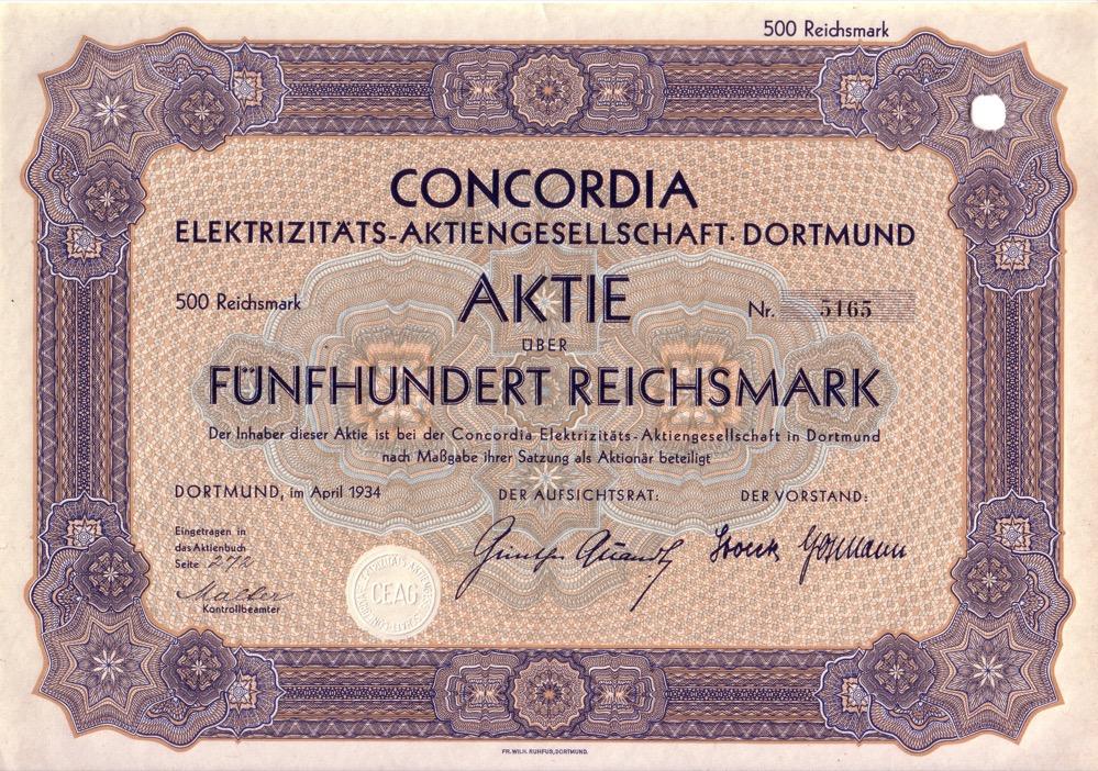 Das Dortmunder Unternehmen war weltweit aktiv. Report: Sammlung Klaus Winter