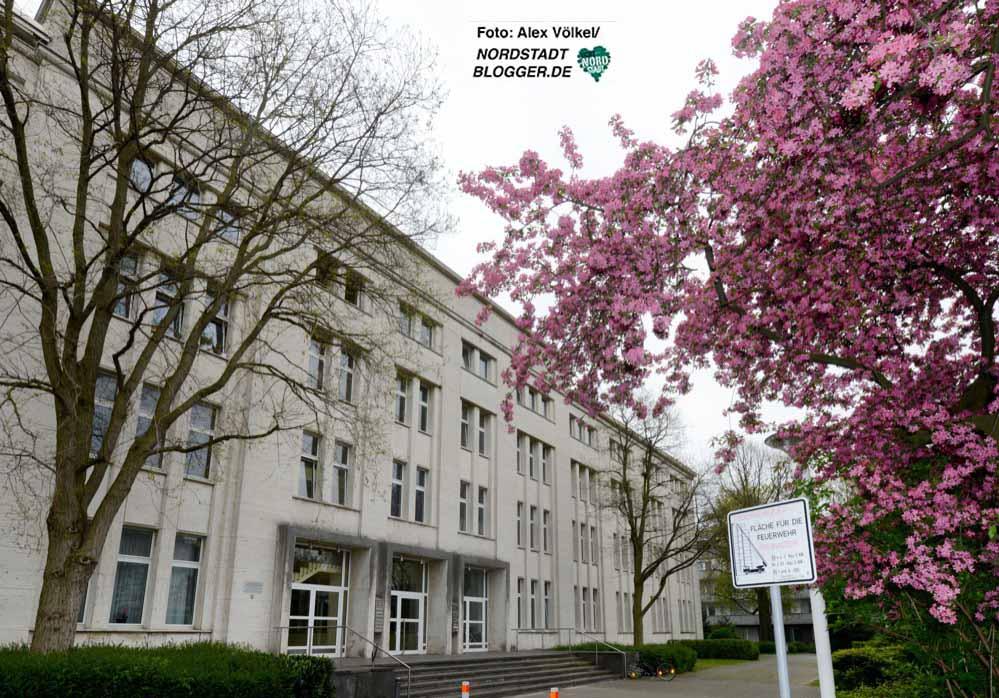 In dem ehemaligen Verwaltungsgebäude waren zunächst Bands zu Hause - heute gibt es hier Sozialwohnungen.