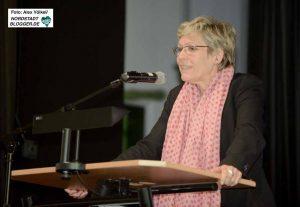 Stadträtin Daniela Schneckenburger gehörte zu den Gratulantinnen des Jubiläums.