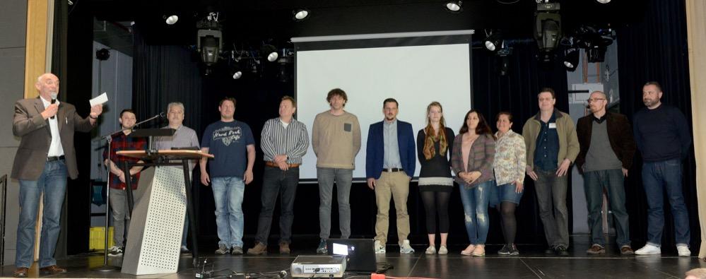 Die MitarbeiterInnen der beteiligten Träger des Sozialpädagogischen Nordstadt-Programms.