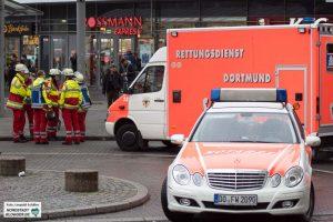 Der Betriebsunfall löste eine Großeinsatz der Rettungskräfte aus.
