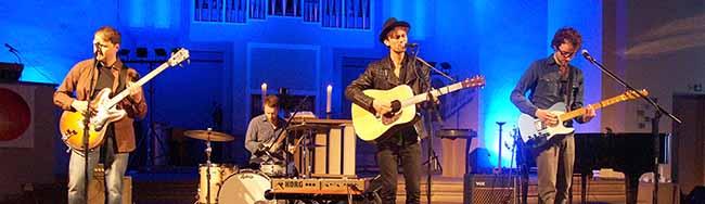 Indie und Folk in der Nordstadt: Ian Late und Jann Tholen gaben ein dreistündiges Konzert in der Pauluskirche