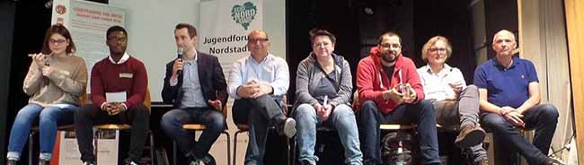 Speed-Dating mit den Landtagskandidaten: Jugendforum Nordstadt lud zur Diskussion und zum Kennenlernen ein