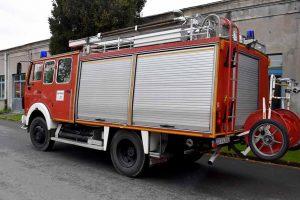 Aus humanitären Gründen möchte die Feuerwehr Dortmund die dortige Arbeit des Brandschutzes durch die Spende eines ausrangierten Mercedes Benz vom Typ 1019 AF aus dem Baujahr 1983 unterstützen.