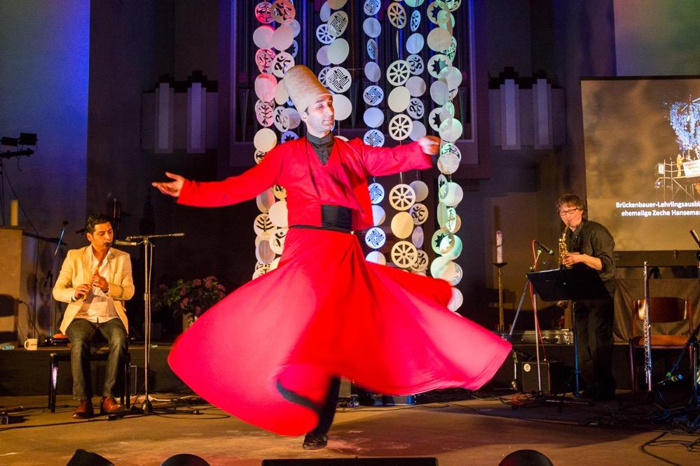 Die Nacht der Religionen bietet wieder viel Musik, Tanz und Kunst. Foto: Rüdiger Barz