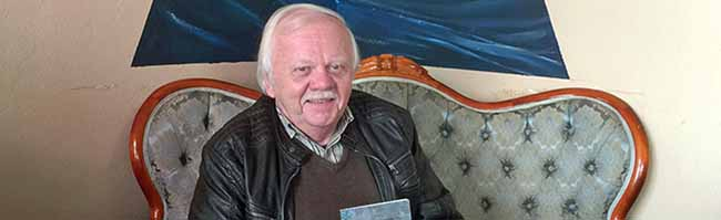 Schriftsteller und PEN-Vorstand Heinrich Peuckmann erinnert sich lyrisch an seinen Start vor 40 Jahren im Henßler-Haus