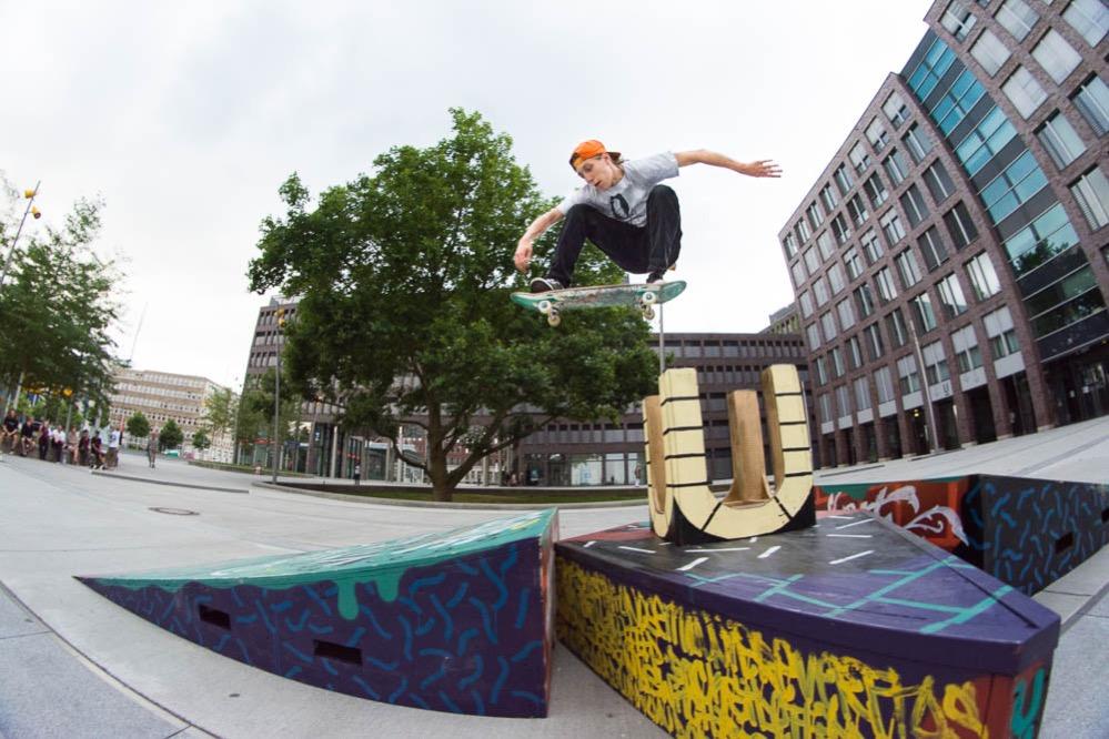 Der Sommer am U verspricht für alle Skatefans wieder ein Highlight zu werden. Foto: Lukas Seelwische