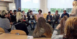 Fast 150 Kinder und Jugendliche haben beim letzten Stadtweiten Jugendforum über Mitbestimmung diskutiert und inhaltlich gearbeitet.