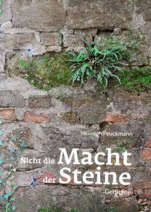 """Heinrich Peuckmann stellt seinen dritten Lyrik-Band """"Nicht die Macht der Steine"""" vor. Foto: Joachim vom Brocke"""